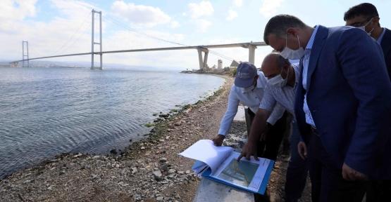 Başkan Büyükakın, Sahil Düzenlemesini Yerinde İnceledi