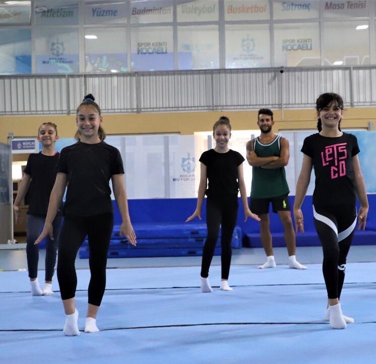 Cimnastik Salonu Kaldığı Yerden Devam Ediyor
