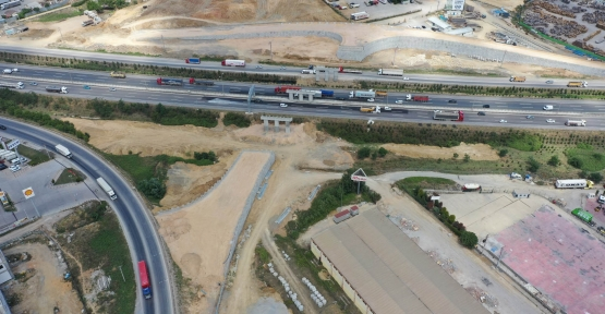 Gebze'deki Dev Ulaşım Projesi Tam Gaz İlerliyor
