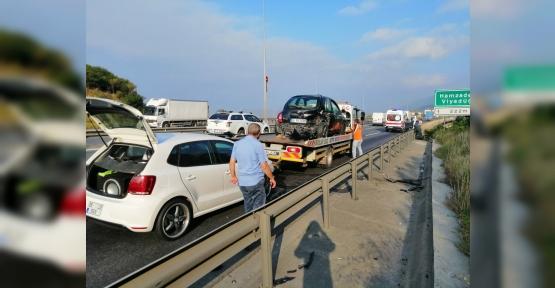Körfez'de Kaza: 2 Yaralı