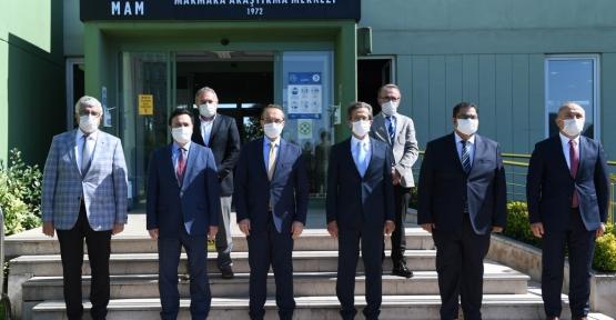 Maske ve Test Merkezinin Protokolü İmzalandı