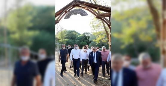 Başkan Büyükakın'dan Ballıkayalar Tabiat Parkı'na Özel İlgi