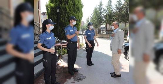 Başkan Söğüt'ten Polis ve Jandarmaya Ziyaret