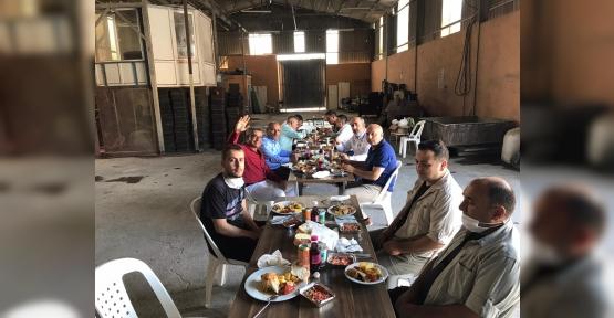 Bordür Atölyesi İşçilerine  Moral Yemeği