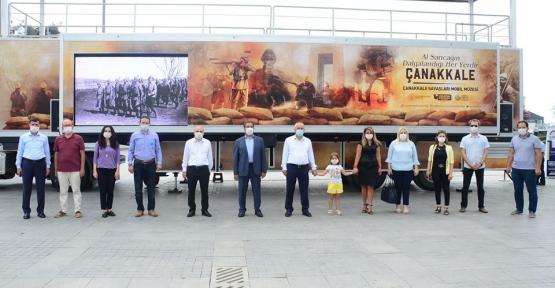 Çanakkale Savaşları Mobil Müze Kocaeli'den Geçti
