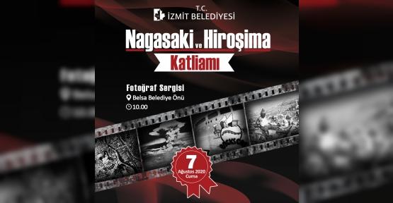 Hiroşima ve Nagasaki İzmit'te Anılacak