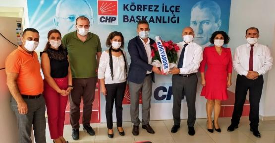 Eğitim Derneğinden  CHP'ye Ziyaret