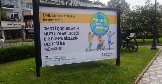 İzmit Belediyesi DMD Hastalığına Dikkat Çekti