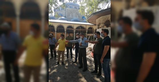 """Şeker: """"Yenicuma Camii Ramazana Yetişecek!"""""""