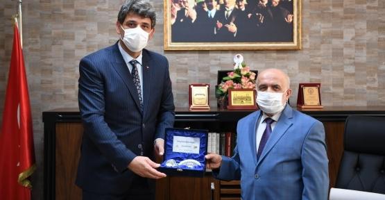 Başkan Kocaman'dan Müftü Nurgün'e Ziyaret
