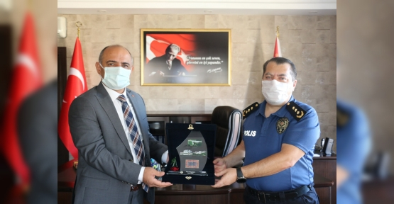 Başkan Söğüt'ten Manap'a Ziyaret