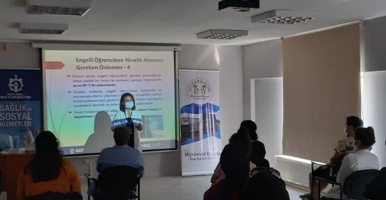 Büyükşehir'in Covid-19 Eğitimleri Devam Ediyor