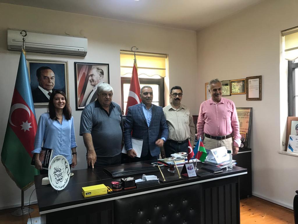 DEVA PARTİSİ'NDEN AZERBAYCAN'A DESTEK ZİYARETİ