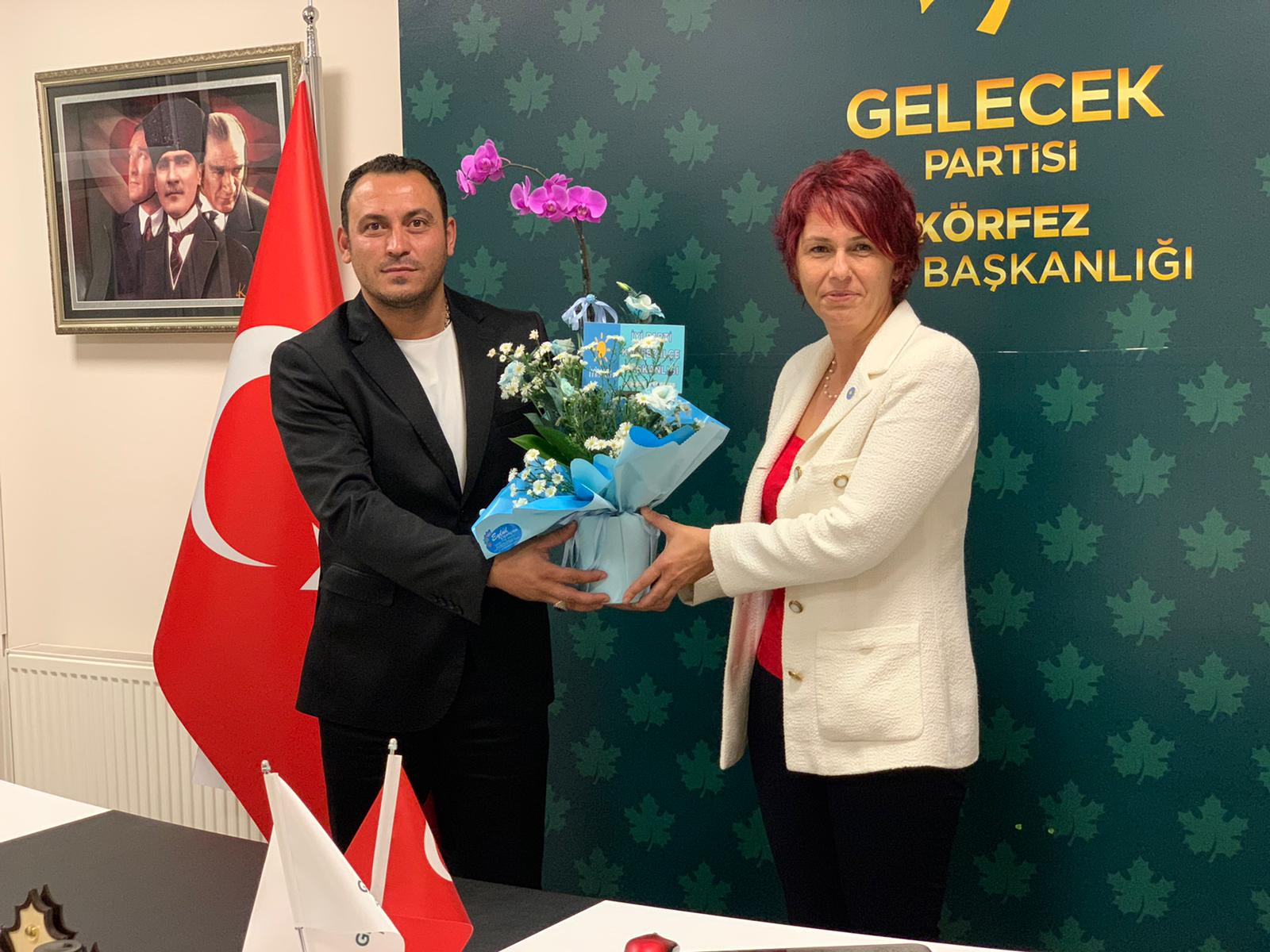 İYİ Parti Yönetiminden  Gelecek Körfez'e Ziyaret