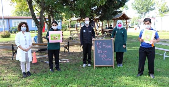 Özel Öğrenciler Gıda İsrafına Dikkat Çekti