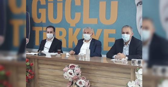 "RAMAZAN TUNA, ""YIL SONUNA KADAR  HEDEF 3 BİN YENİ ÜYE"""