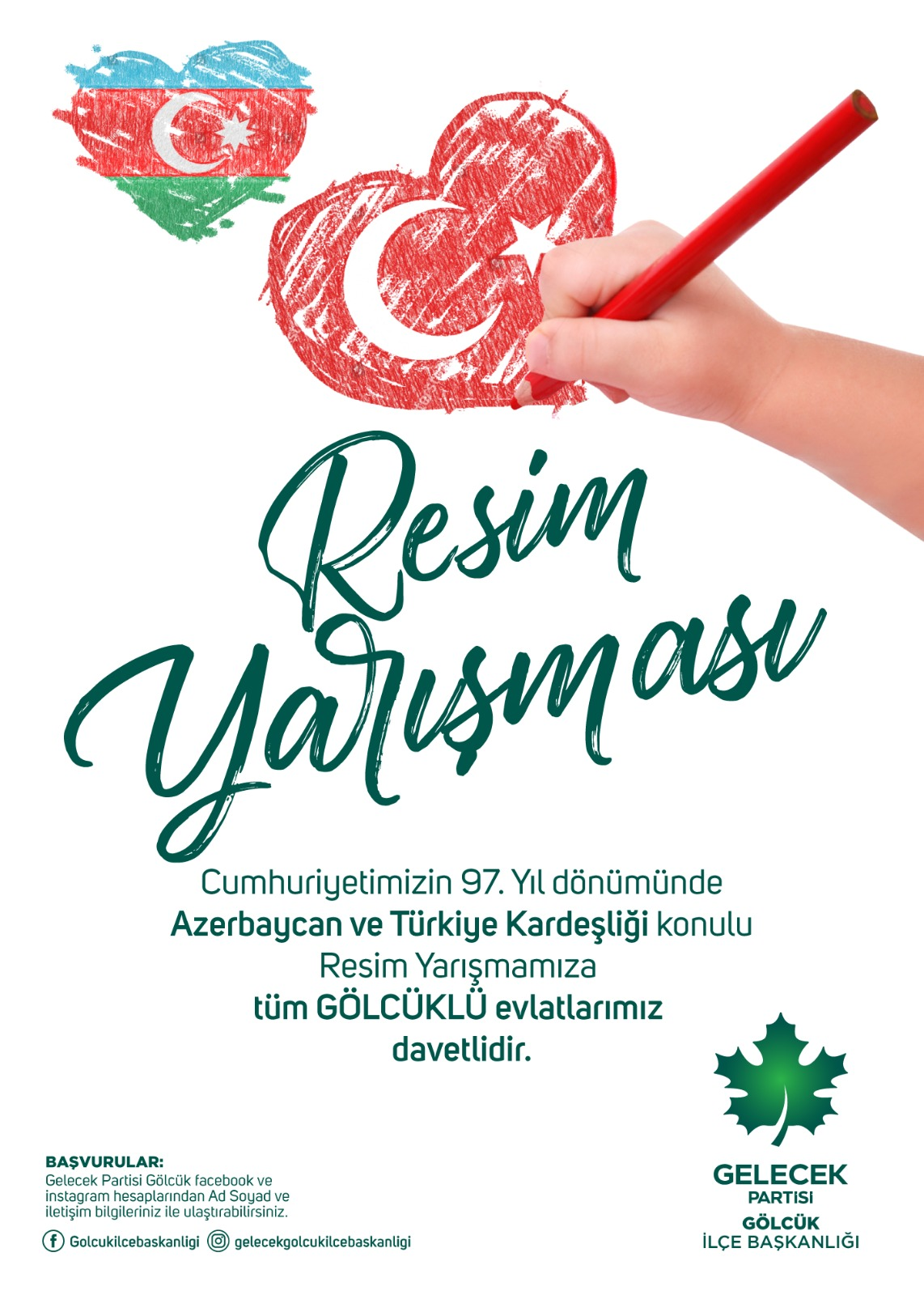 Türkiye-Azerbaycan  Kardeşliği Resim Yarışması