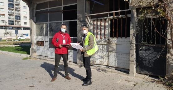 Büyükşehir Hasar Tespit Çalışmaları İçin İzmir'e Mühendis Gönderdi