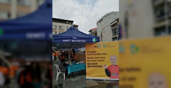 İzmit Belediyesi ve LÖSEV'den Farkındalık Etkinliği