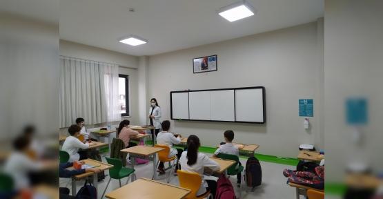 Körfezim Eğitim Kurumları'nda 5. Sınıflar Yüz Yüze Eğitime Merhaba Dediler