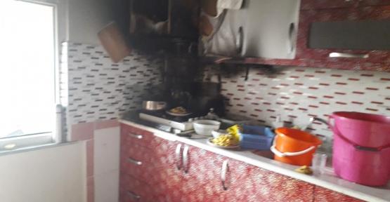 Mutfakta Yangın Çıktı