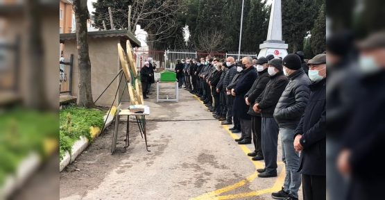 ARİF KIZILKAYA'YI SEVENLERİ  EBEDİYETE UĞURLADI