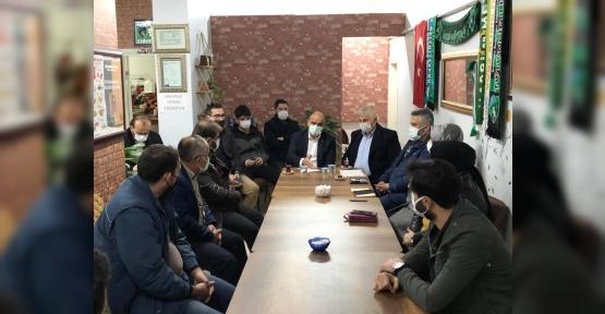 Yeniyalı Mahallesi Başkan  Söğüt'le Toplandı