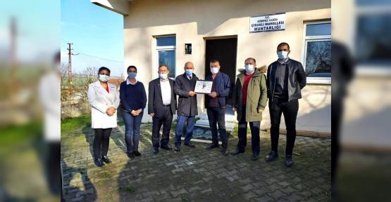 CHP Körfez Köylere  Çıktı