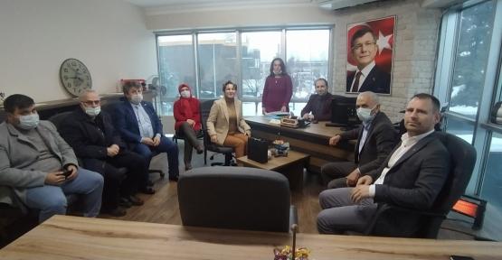 Gelecek İzmit, İYİ Parti'yi Ağırladı