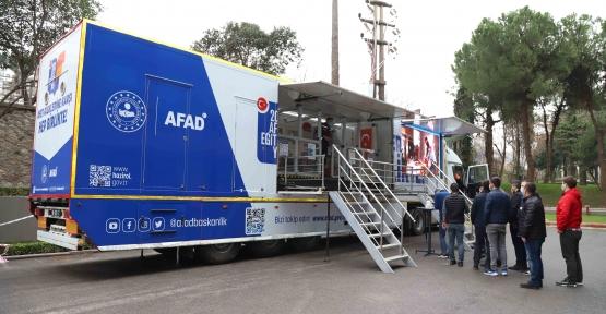 İSU Personeline AFAD'tan Deprem Eğitimi