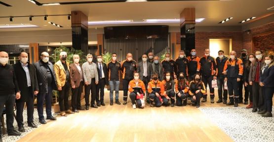 Afet Gönüllüleri Nazende'de Buluştu