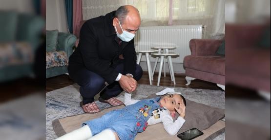 Başkan Söğüt'ten Minik Masal'a Ziyaret