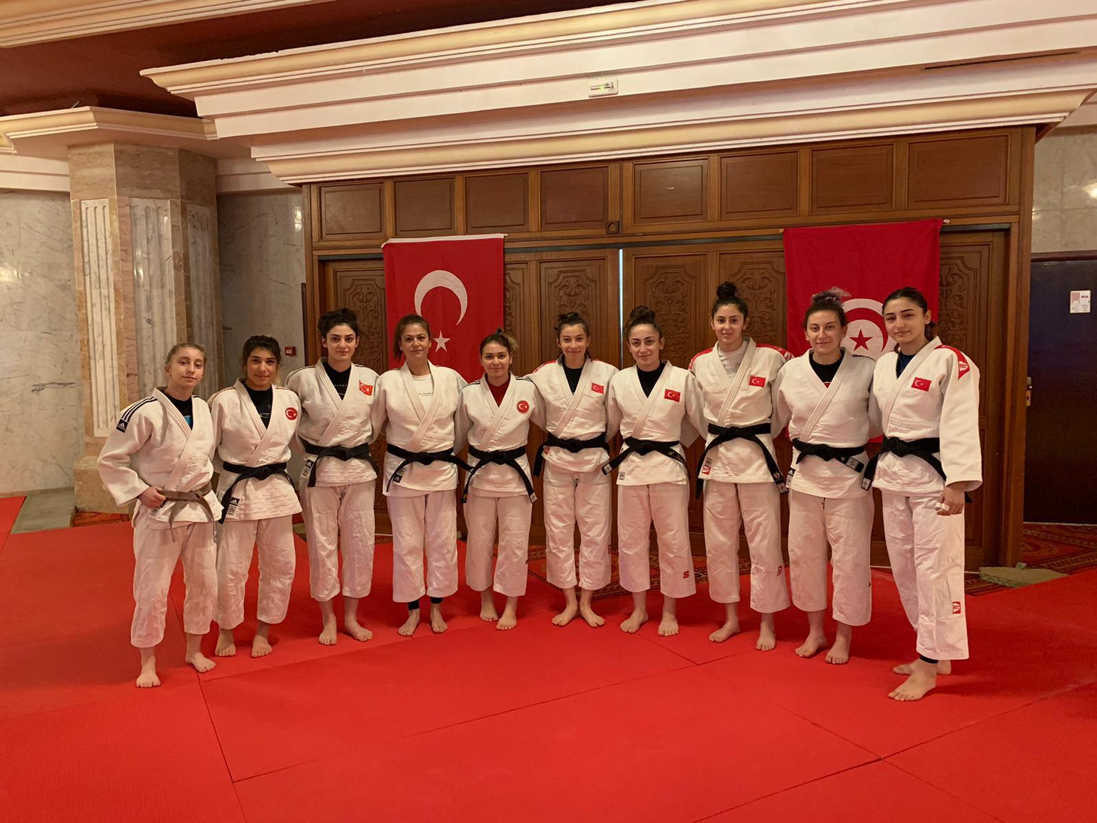 Judocular Milli Takım Kampı İçin Tunus'ta