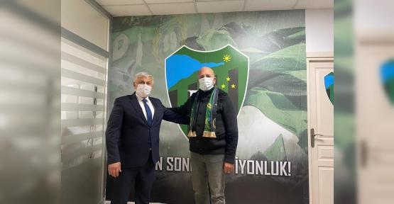 BAŞKAN TUNA'DAN ŞAMPİYON KOCAELİSPOR'UN BAŞKANINA ZİYARET