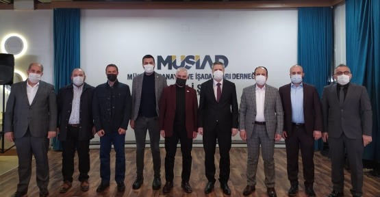 Osman Eşgin'den Müsiad'a Ziyaret