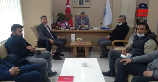Yeniden Refah Partisi'nden Esnaf Odası Ziyareti
