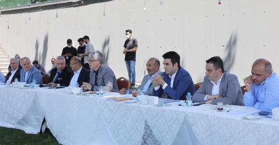 AK Parti Geniş Kapsamlı SEDAŞ Toplantısını Bu Kez Yüz Yüze Yaptı