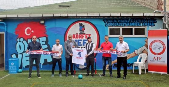 Körfez Vefa Spor Klübü' ne Federasyon Tebriki