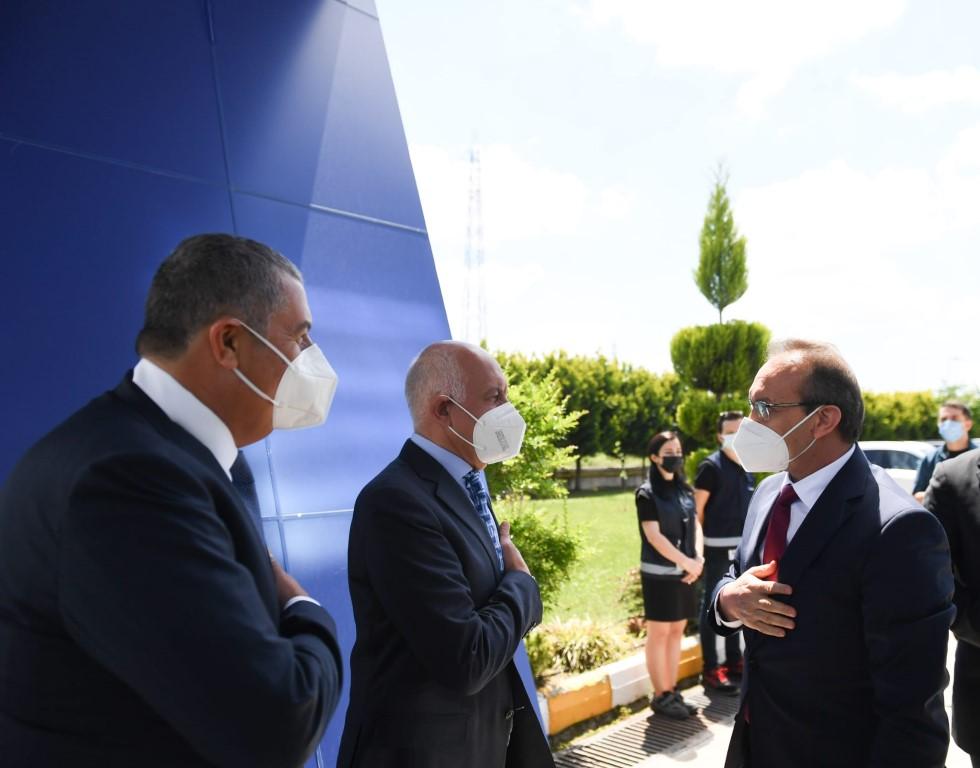 Vali Yavuz, Asım Kibar Osb'yi Ziyaret Ederek, İncelemelerde Bulundu