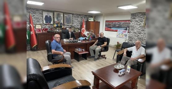 Arpalı Köyü Derneği, MHP Kocaeli İl Başkanlığını Ziyaret Etti