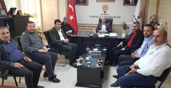 Konuk Başkan Yaşar Tuna'yı Ziyaret Etti