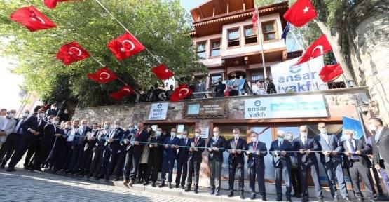 Bilal Erdoğan'ı Karşıladılar