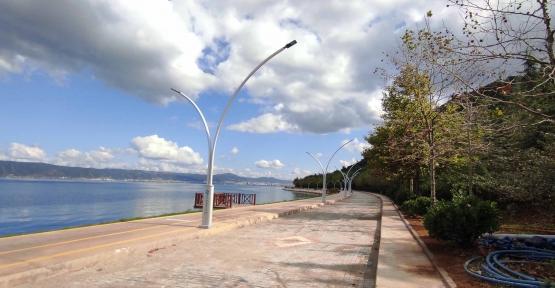 Ereğli Sahili'ne 5 km'lik Yeni Yol
