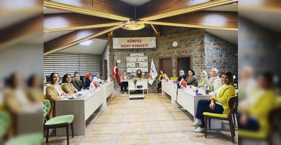 Körfez Kadın Meclisi  İlk Toplantısını Yaptı