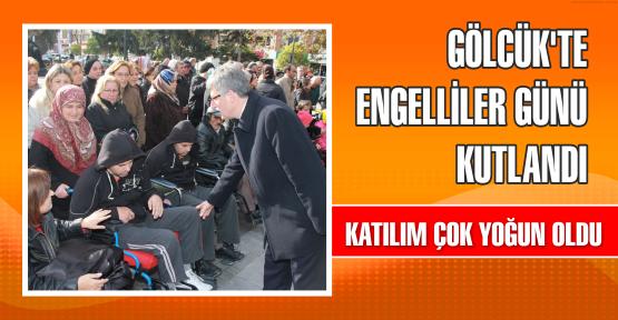 3 Aralık Dünya Engelliler Günü  Gölcük Anıtpark'ta Törenle kutlandı