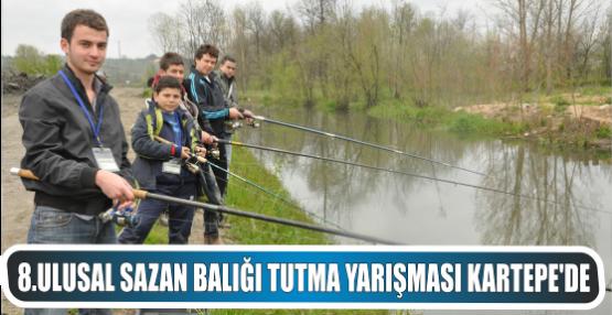 8.Ulusal Sazan Balığı Tutma Yarışması Kartepe'de
