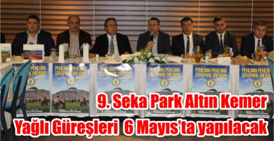 9. Seka Park Altın Kemer Yağlı Güreşleri  6 Mayıs'ta yapılacak