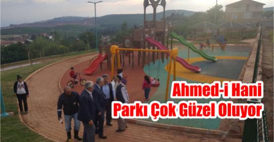 Ahmed-i Hani Parkı çok güzel oluyor