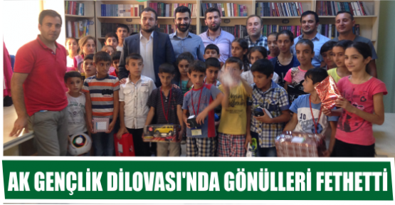 AK GENÇLİK DİLOVASI'NDA GÖNÜLLERİ FETHETTİ