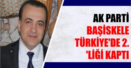 AK PARTİ BAŞİSKELE TÜRKİYE'DE 2. 'LİĞİ KAPTI